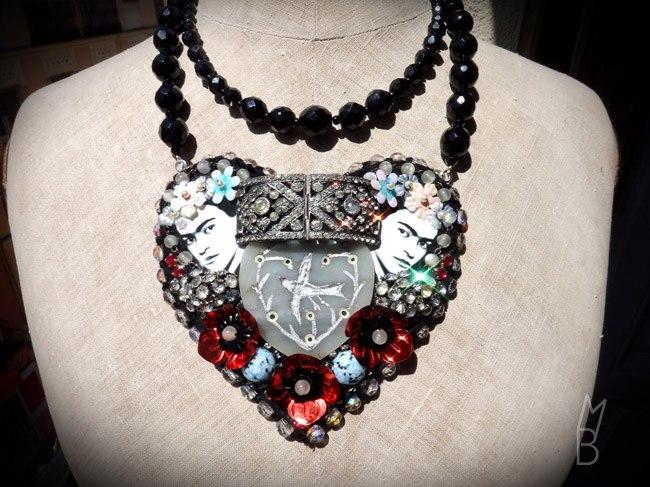 Collar Frida. Fotografía: Miss Bijoux