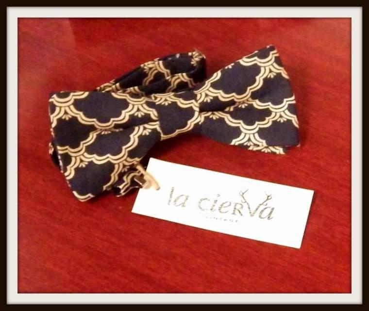Pajarita RamaLama en La Cierva Vintage. Fotografía: Adriana Alcol