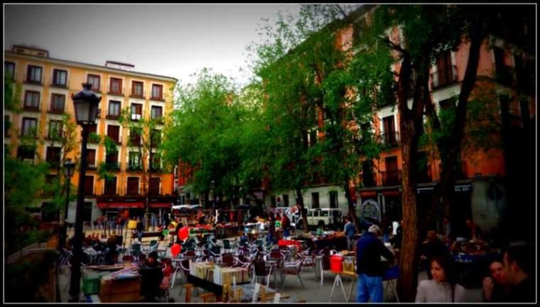 Plaza Dos de Mayo, Malasaña