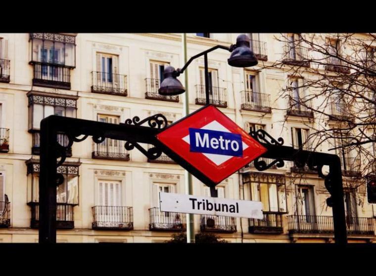 Metro Tribunal, Madrid
