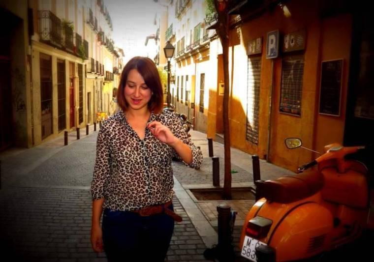 "Adriana Alcol, creadora de ""Esto es Malasaña"""