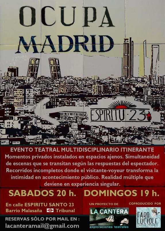 OCUPA MADRID 2013