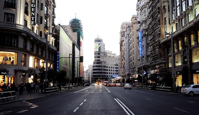 Madrid en Agosto