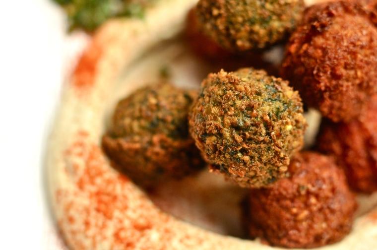 Hummus y Falafel