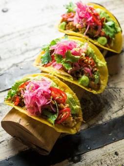 tacos-tex-mex-de-pollo-marinado