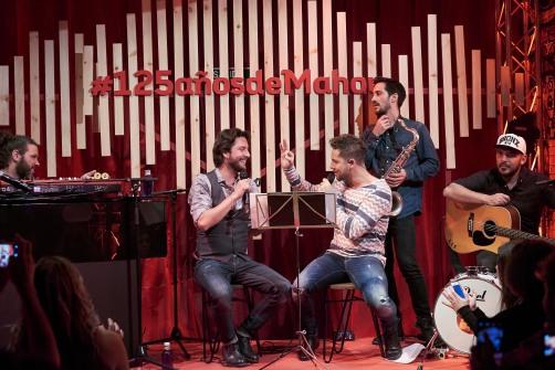 Espacio Cómplice_David Bisbal y Manuel Carrasco (3)