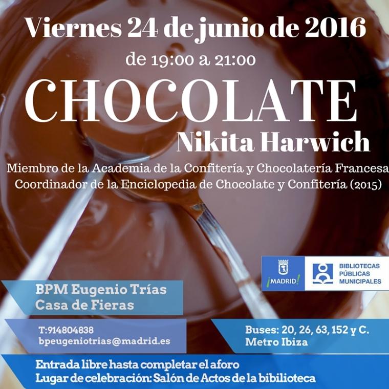 Chocolate, con Nikita Harwich