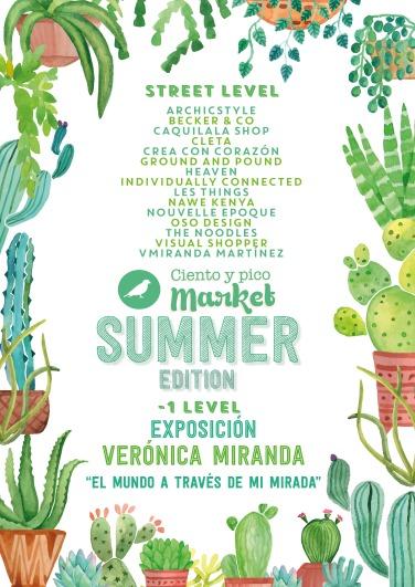 Participantes Ciento y pico Market Summer Edition