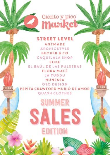 Participantes Ciento y pico Market Sales Edition