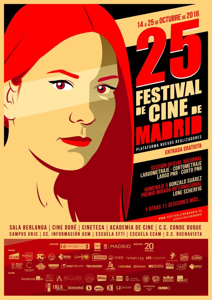 Festival de Cine de Madrid, del 14 al 25 de Octubre de 2016