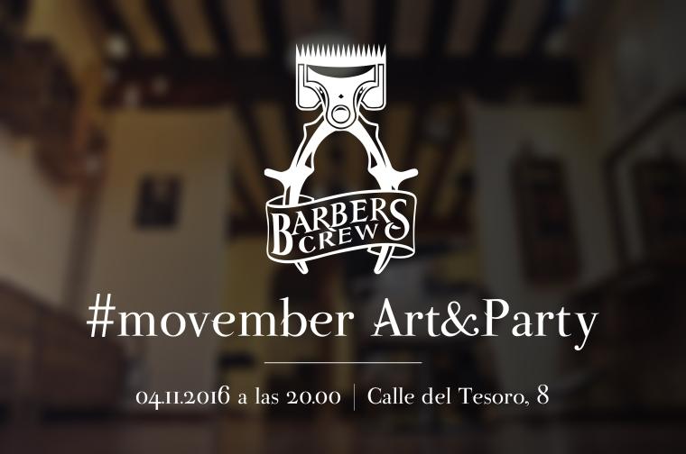 #Movember en Barbers Crew