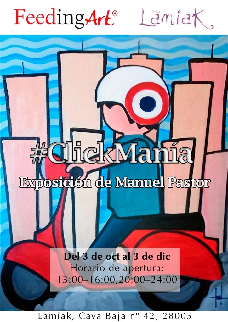 #ClickManía, la nueva exposición de Manuel Pastor