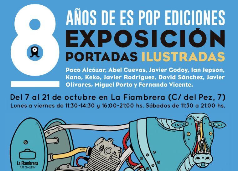Exposición en La Fiambrera, Malasaña