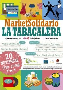 Market Solidario ADAL, La Tabacalera.
