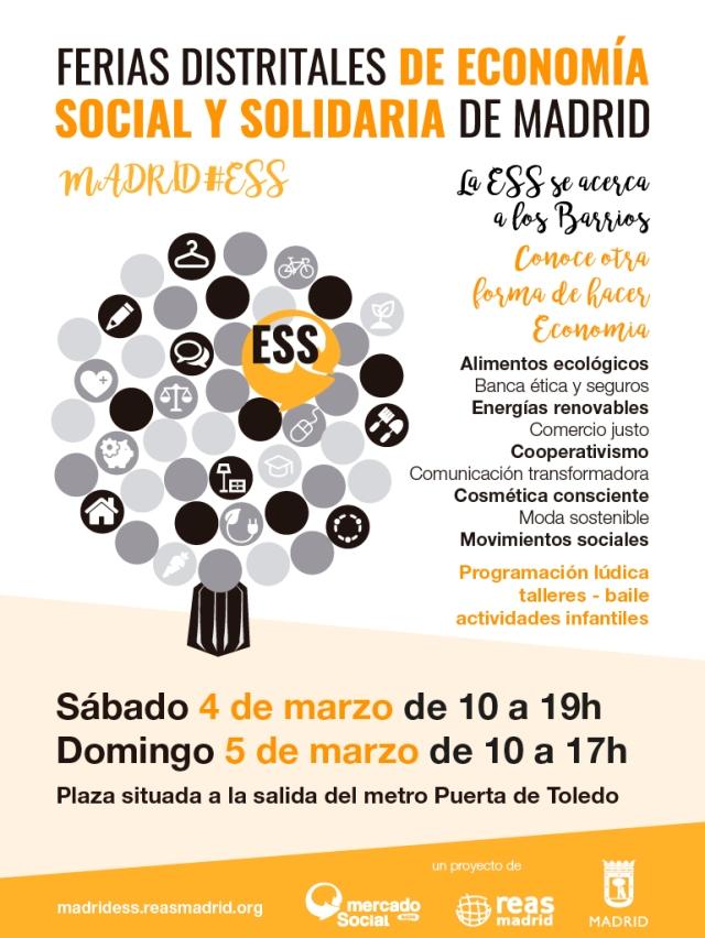 Feria de economía social y solidaria Madrid, Mercado Social Madrid