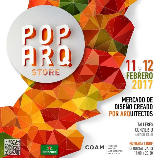 Pop Arq Store, febrero 2017