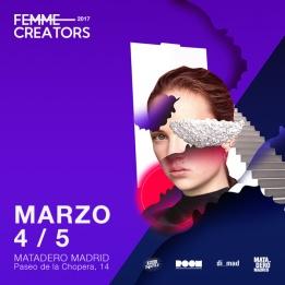 """Mercado de Diseño, edición """"Femme Creators"""""""