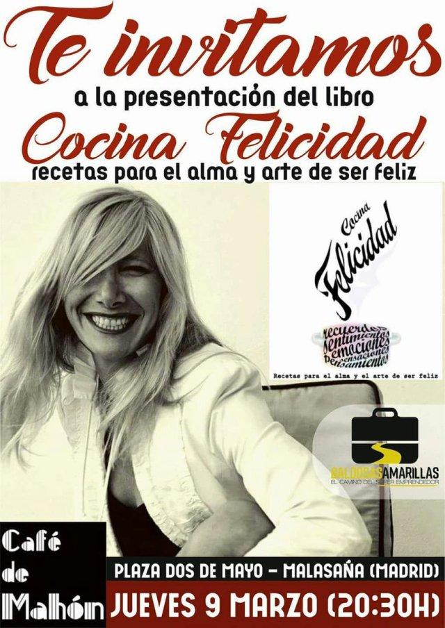 """Presentación """"Cocina Felicidad"""" en el Café de Mahón"""