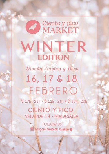 Cartel Ciento y pico Market Winter Edition