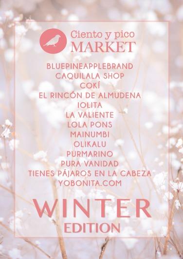 Participantes Ciento y pico Market Winter Edition