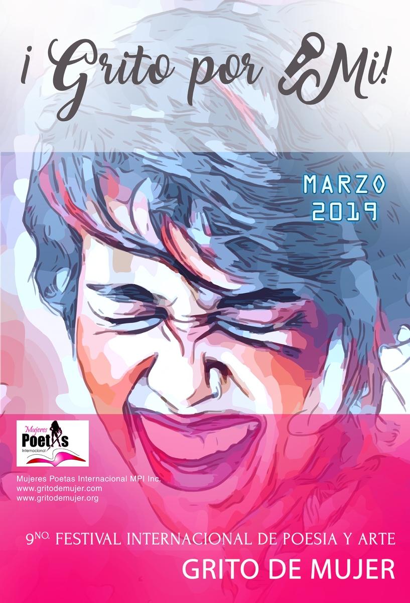 """EN MARZO, FESTIVAL INTERNACIONAL DE POESÍA Y ARTE """"GRITO DE MUJER"""" 2019"""